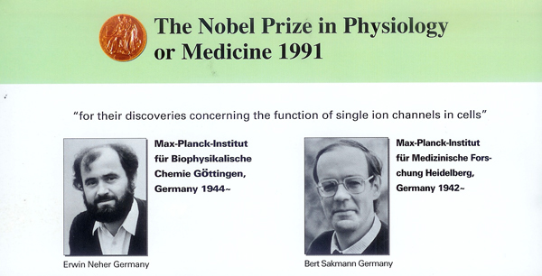 Nobel Prize in Phisiology for Negative Ion Research
